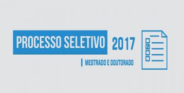 Processo Seletivo Mestrado e Doutorado Engenharia Mecanica UFES 2017.01